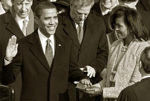 Investidura Barack Obama, Presidente de los Estados Unidos. elpais.com