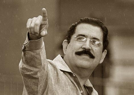 Manuel Zelaya. Fotografía de elmundo.es