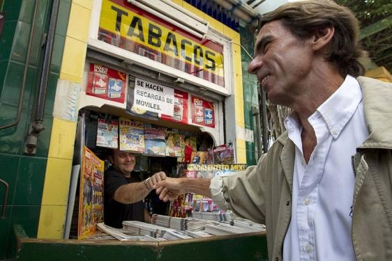 José María Aznar en Melilla. El Mundo. 18 de agosto de 2010