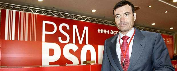Tomás Gómez, líder de los socialistas madrileños