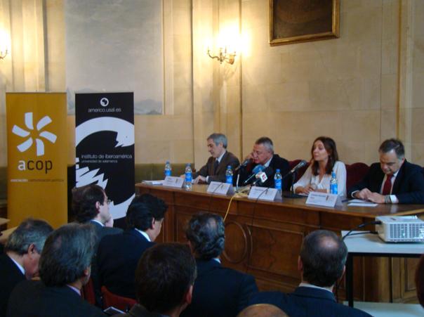 Encuentro ACOP Salamanca. Elecciones en España. Fotografía de ACOP