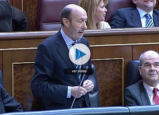 Rubalcaba responde ante Gil Lázaro sobre el caso Faisán. Vídeo de RTVE