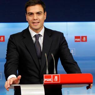 Pedro Sánchez. Fotografía de lacerca.com