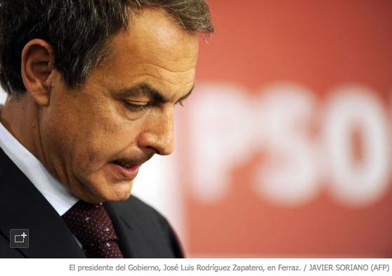 Declaraciones tras los resultados en Ferraz de José Luis Rodríguez Zapatero