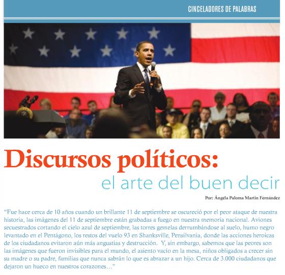 Campaigns & Elections. Pág. 20. Número 21. Octubre 2011