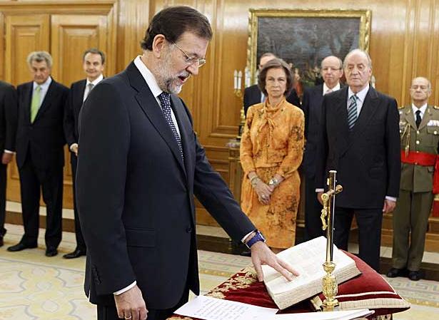Mariano Rajoy, presidente del Gobierno de España. Fotografía de El Mundo
