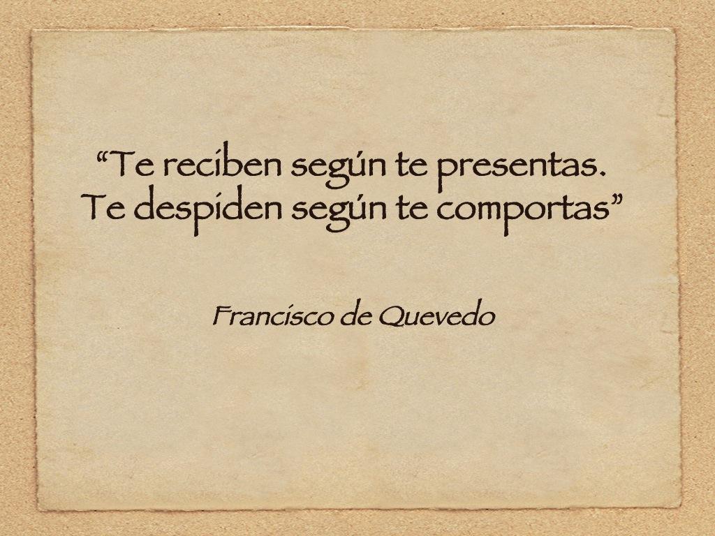 Francisco de Quevedo.