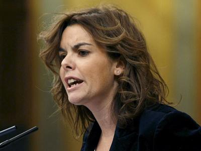 """Fotografía de Público cuando Sáenz de Santamaría, Ridao, Marugán y Llamazares optaron al galardón a """"mejor orador"""" 2009"""