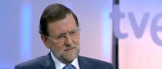 """Rajoy responde a la pregunta """"¿Necesita España un rescate?"""" RTVE"""