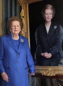 Margaret Thatcher, la Dama de Hierro. Imagen de Reuters