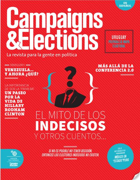 Edición Número 34 de la Revista Campaigns & Elections en Español (Julio - Agosto 2013)