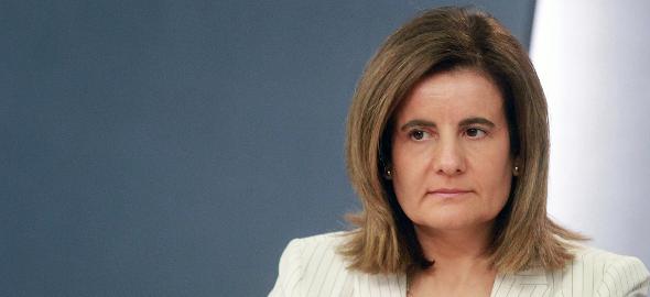 La ministra de Empleo y Seguridad Social, Fátima Báñez. (Flickr: La Moncloa)