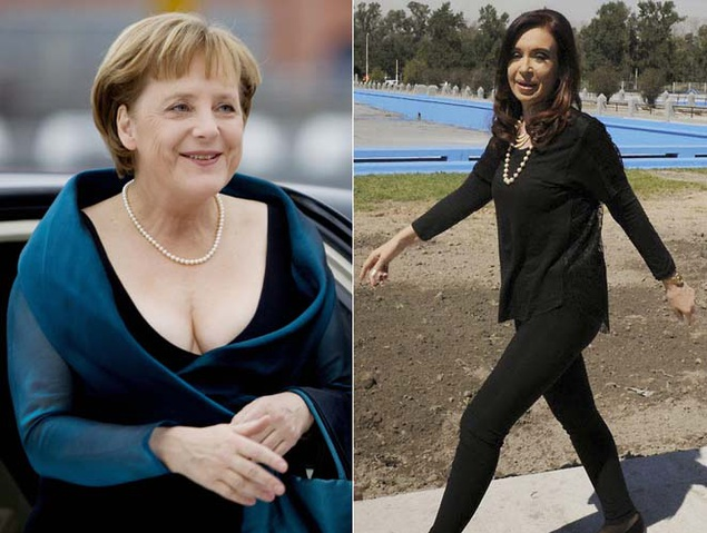 """Imagen del artículo """"¡Tápese, presidenta!"""" La moda, esa arma arrojadiza en la política. Por Getty"""