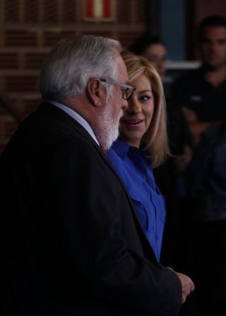 Arias Cañete y Valenciano, en TVE, por LUIS SEVILLANO