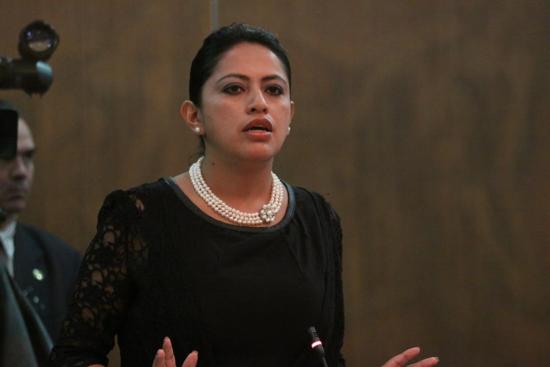 Paola Berenice Pabón, asambleísta en Ecuador
