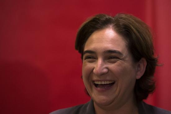 Ada Colau, por Emilio Morenatti (AP)