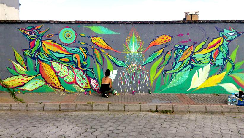 Warmi Paint, arte urbano en clave de mujer - De Cerca