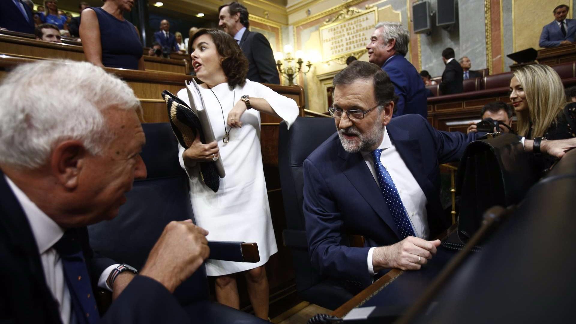 Mariano Rajoy en el Congreso de los Diputados. Europa Press