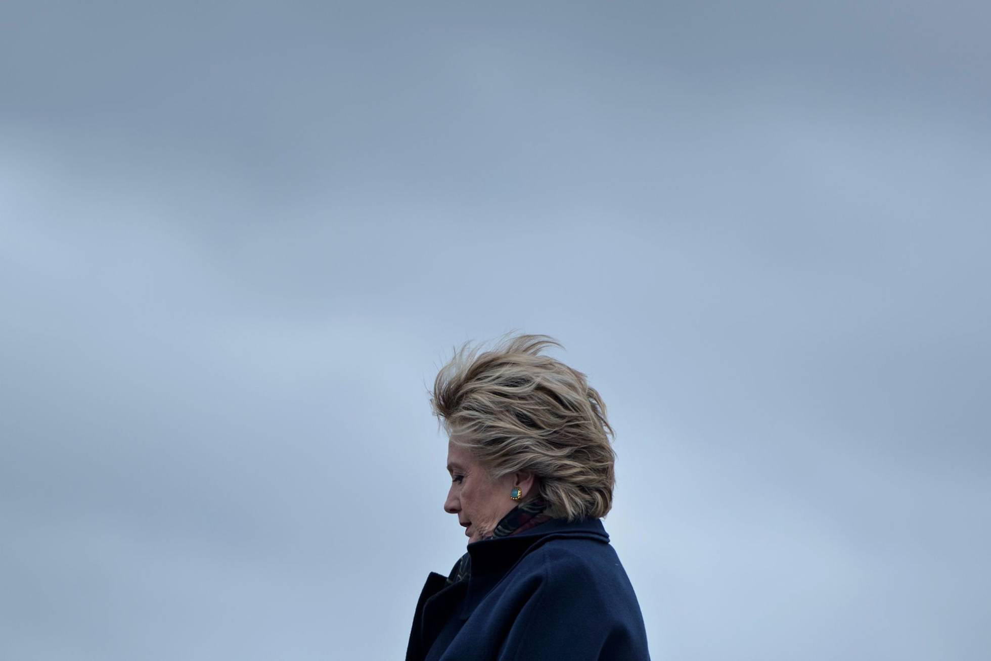 Hillary Clinton en Seattle, Washington. BRENDAN SMIALOWSKI AFP