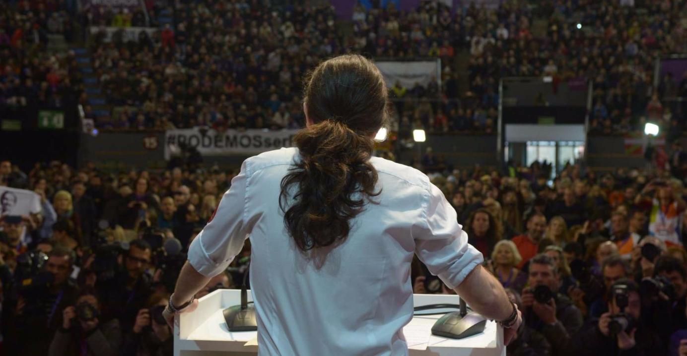 Pablo Iglesias, Secretario General de Podemos. En bez.es