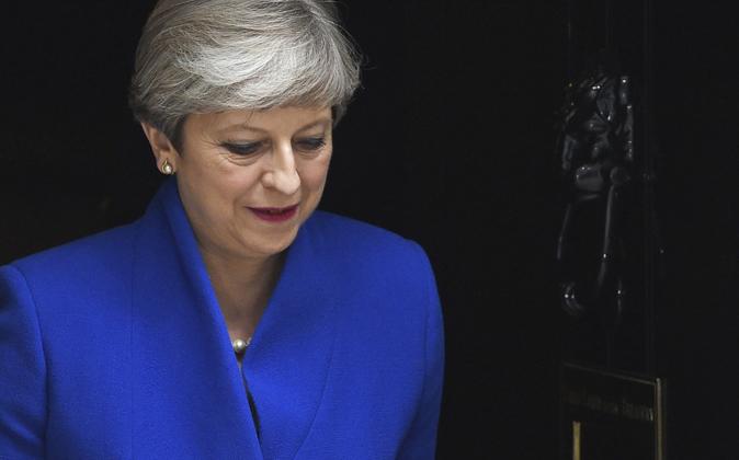 Theresa May. POR JOSÉ RUIZ VICIOSO en Expansión